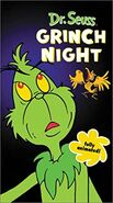 Dr Seuss Grinch Night 2001 VHS Cover