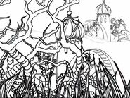 Drawing a Dr Seuss Inspired Cityscape