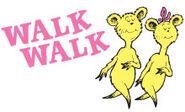 Walk-walk we like to walk