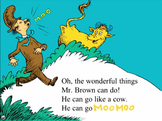 App He can go moo moo
