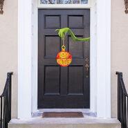 The Grinch Merry Whatever Door Decoration