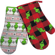 Grinch Oven Mitts
