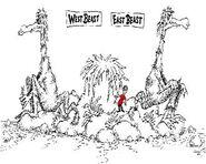 West beast east beast