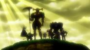 Sept Péchés Capitaux dans leur armure Anime