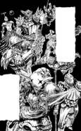 Sept Péchés Capitaux dans leur armure Manga