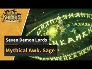 -Seven Knights- Mythical Awakened Sage has appeared!
