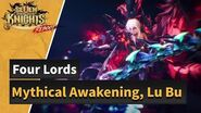 Seven Knights Four Lords Lu Bu Mythical Awakened!