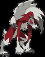 Lycanroc Midnight SM anime