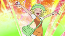 Bianca After Cathing Pokemon.png