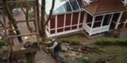 304 Jakob builds a treehouse at the Milburn House 4