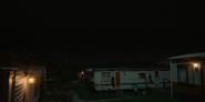 303 Caravans Park at night