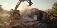 301 Demolished bathrooms