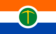 Lefkoafrikosexual pride Flag
