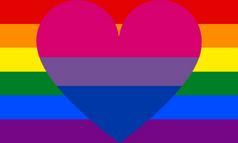 Another biromantic homosexual flag.