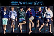 Hot barefoot Chinese men