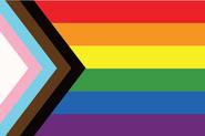 The progress flag