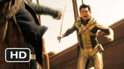 Star Trek (3 9) Movie CLIP - Drill Fight (2009) HD