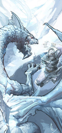 White dragon by njoo
