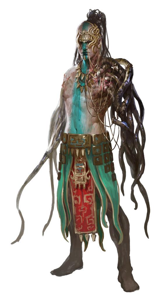 Yuan-ti władca jamy