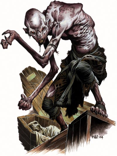 Grobotknięty ghoul