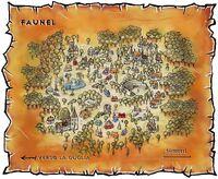 Mapa Faunelu