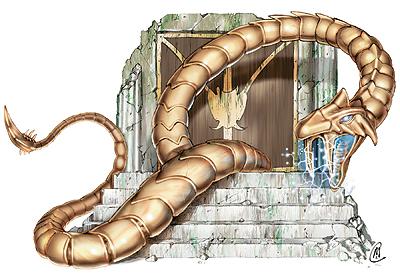 Spiżowy wąż