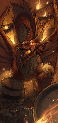 Red dragon by njoo