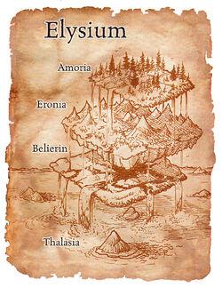 Mapa Elizjum