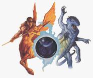 Mystara Monstrous okładka