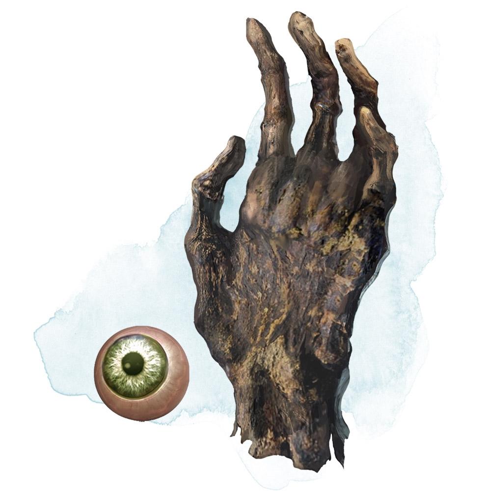 Dłoń i oko Vecny