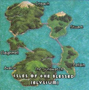 Wyspy Błogosławionych
