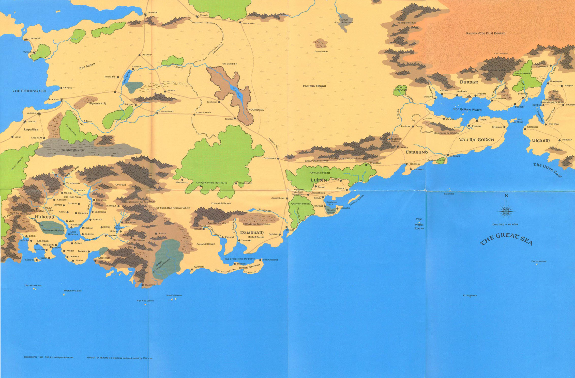 Lśniące Południe (kraina)