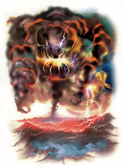 Żywiołak burzy