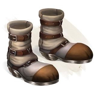 Buty kroków i podskoków