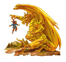 Brass Dragon DL