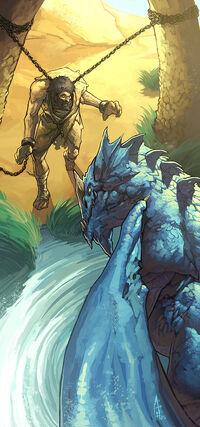 Blue dragon by njoo