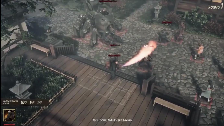 Flamethrower Ninja