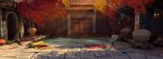 Temple fall