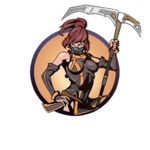 Looter girl scythe