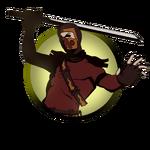 Ninja man ninja sword