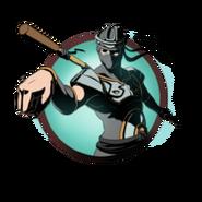 Ninja man heavy staff