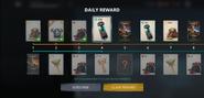 SF3 Daily Reward