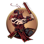 Ninja man big mace
