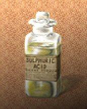 Bottle of Acid