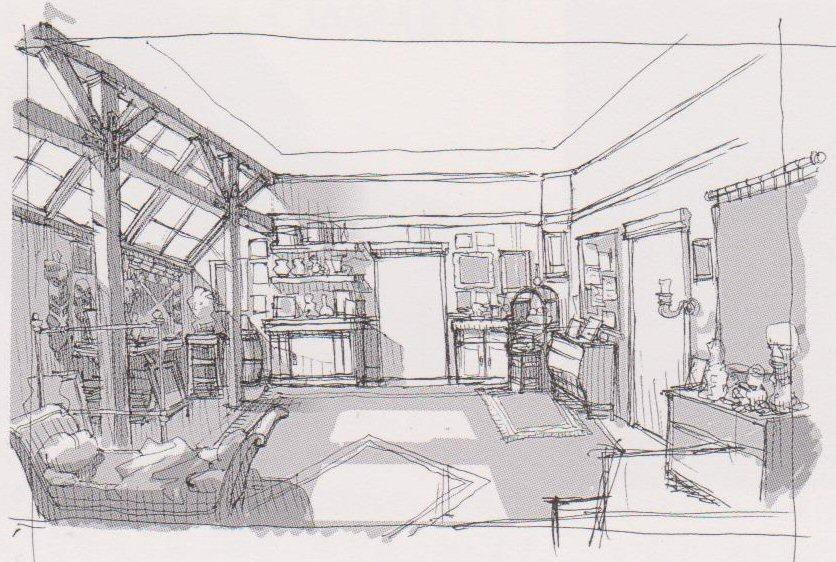 Paris/Gepetto's Apartment
