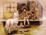 Blanca, yoshiko, and naniwa illustration