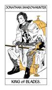 CJ Tarot espadas, Rey
