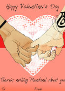 Valentin napi üdvözlőlap 3