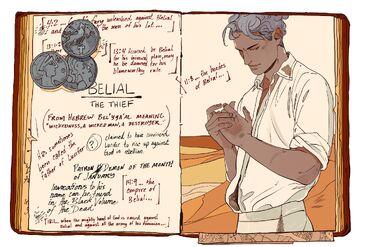 CJ Príncipes del Infierno, Belial 01