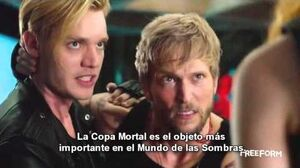 Shadowhunters 1x02 Promo Preview on the Freeform App Con subtitulos en español